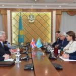 Дарига Назарбаева приняла Посла ОАЭ в РК 1