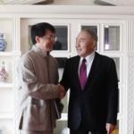 Джеки Чан хочет снять кино в Казахстане 1