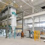 В Атырауской области запустили новый завод по производству строительных смесей 1