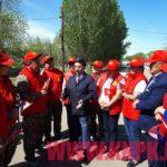 Штаб Жамбыла Ахметбекова встретился с наблюдателями 1