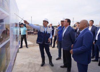 Премьер-министр посетил Туркестан с рабочим визитом 2
