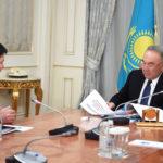 Касым-Жомарт Токаев принял Генерального Прокурора Гизата Нурдаулетова 1