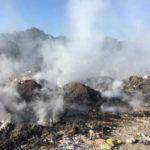 Вместо сгоревшей под Алматы мусорной свалки построят парк 1