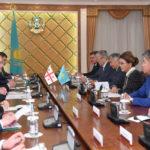 Дарига Назарбаева провела встречу с Генеральным секретарем Всемирной Лютеранской Федерации 1