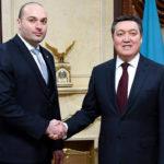 Касым-Жомарт Токаев принял Премьер-министра Грузии 1