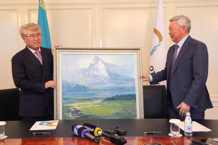 Президент НАО «Фонд Отандастар» и министр культуры и спорта подписали меморандум о сотрудничестве 1