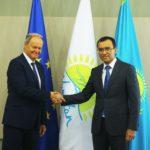 Аскар Мамин провел переговоры с Премьер-Министром Грузии М. Бахтадзе 2