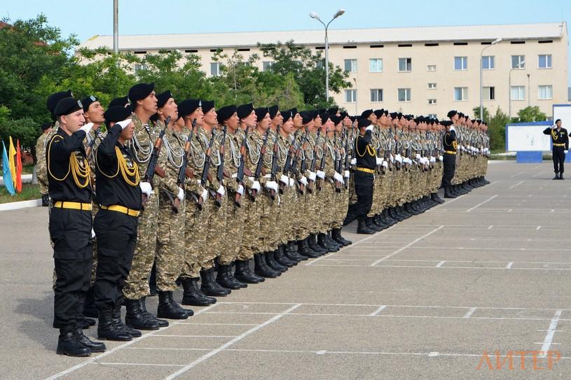 700 новобранцев регионального командования «Запад» приняли присягу