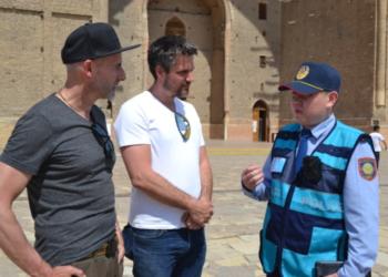 Туристская полиция заработала в Туркестане 5