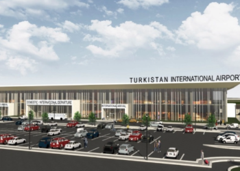 В Туркестане заложили фундамент международного аэропорта 3