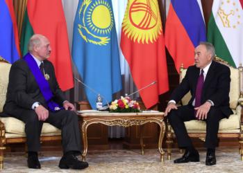 Нурсултан Назарбаев встретился с Александром Лукашенко 1