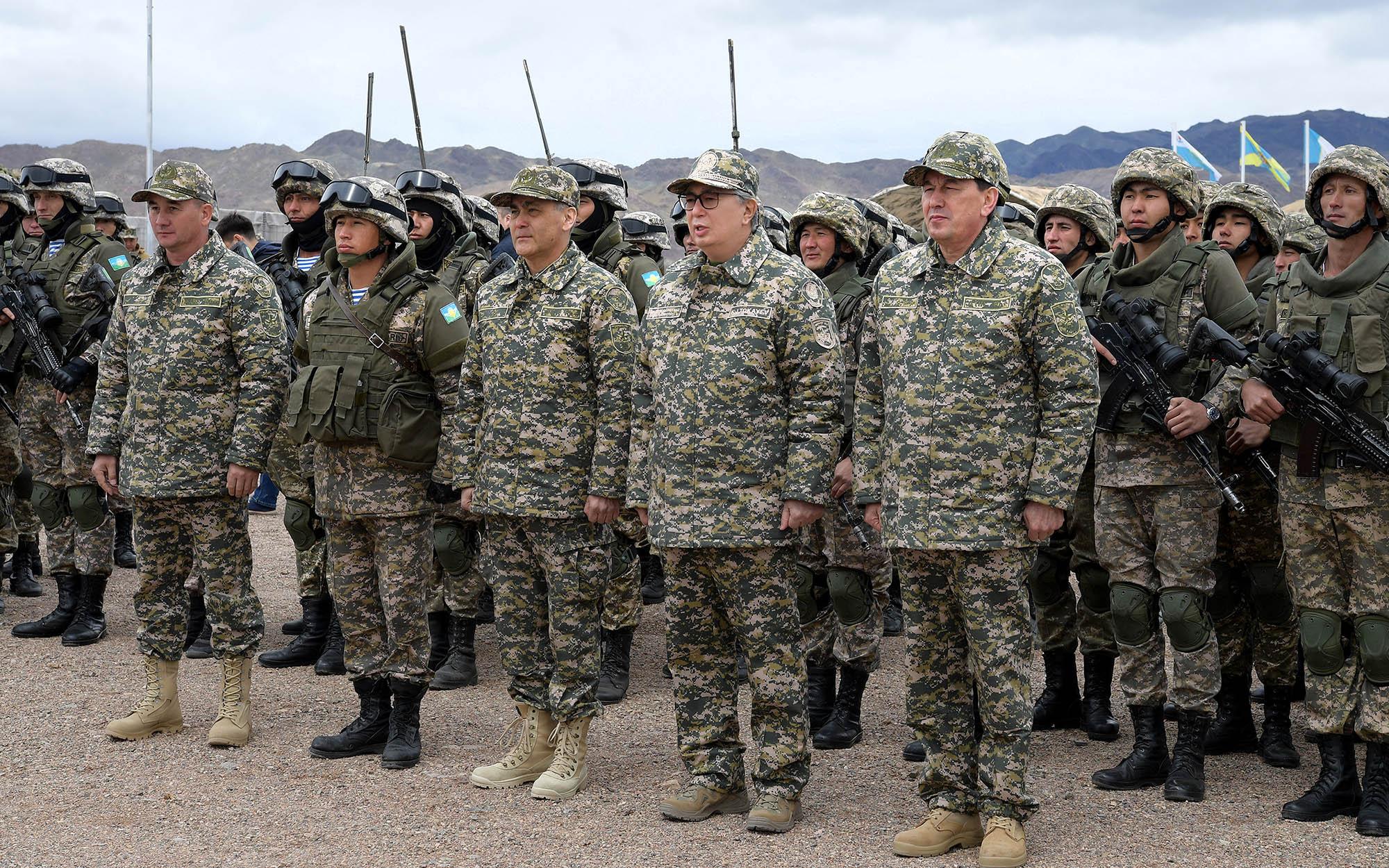 К. Токаев принял участие в стратегических командно-штабных учениях «Айбалта-2019»