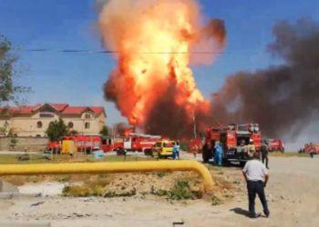 Ожог более 90% тела получил пострадавший при взрыве газа в Шымкенте 3