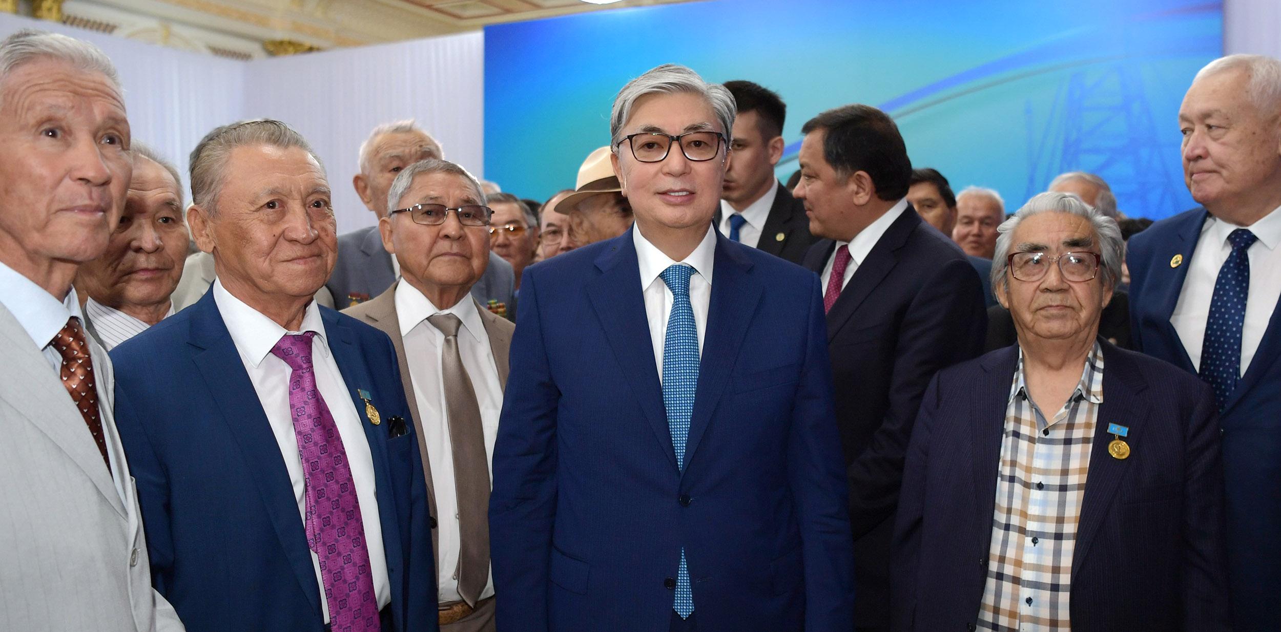 Касым-Жомарт Токаев встретился с общественностью Атырауской области