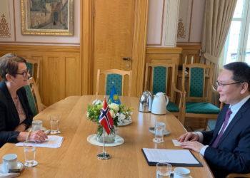 Посол РК встретился с Президентом Стортинга Норвегии 4