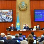 Нурлан Нигматулин подвел итоги работы четвертой сессии VI созыва 1