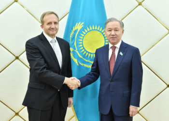 Нурлан Нигматулин принял Посла Чехии в Казахстане 7