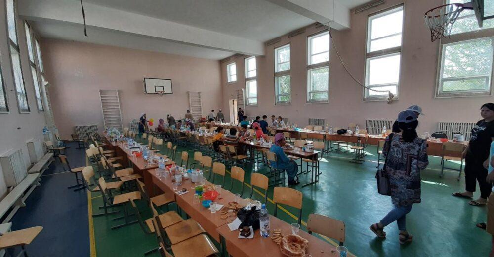 Как помогают жителям Арыси (ФОТО)