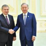 Нурлан Нигматулин с официальным визитом посетил Узбекистан 1