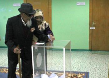 Один из старейших жителей Караганды пришел на выборы 4