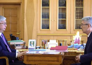 Президент РК принял акима Мангистауской области 2