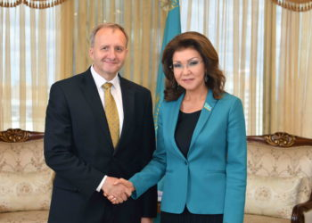 Дарига Назарбаева приняла послов Японии и Чехии в РК 6