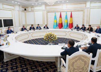 Мамин принял участие в VIII заседании Межправсовета в Бишкеке 2