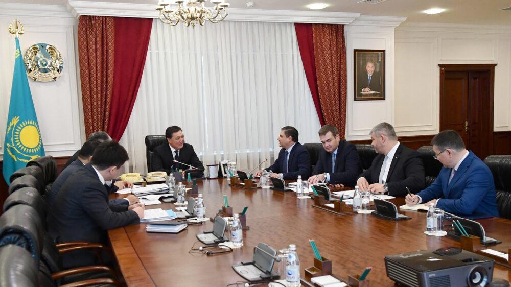 Аскар Мамин призвал крупнейшие компании мира к реализации новых совместных проектов