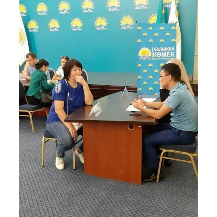 Во всех филиалах партии «Nur Otan» по Павлодарской области прошел день открытых дверей 1