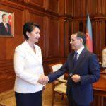 Высокая награда Казахстана вручена Верховному представителю ЕС 1