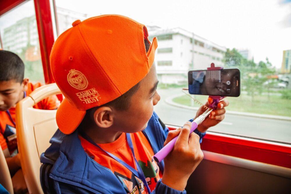 Дети-победители творческого конкурса путешествуют по Казахстану