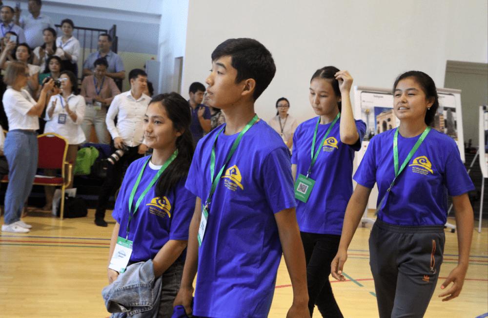 В НИШ открыли летнюю школу для детей казахских диаспор зарубежья