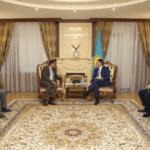 Аскар Мамин встретился с Послом США в Казахстане У. Мозером 1