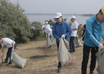 Более 20 тысяч человек приняли участие в экологической акции «Бірге – таза Қазақстан» в Карагандинской области 2
