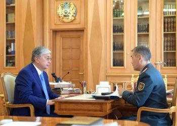 Касым-Жомарт Токаев узнал о ходе восстановительных работ в Арыси 1