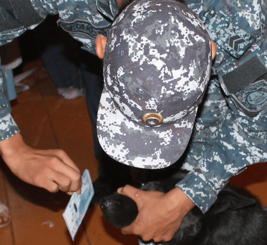 Служебная собака помогла раскрыть преступление