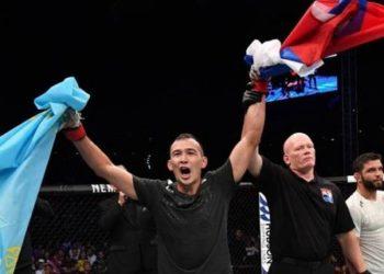 Казахстанский боец одержал третью победу в UFC 1