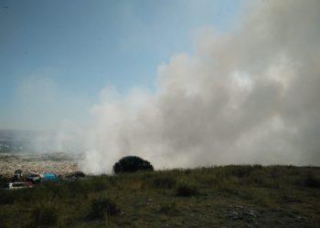 Усть-Каменогорск задыхается от дыма горящей свалки 1