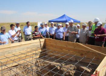Казахстанские профсоюзы построят жителям Арыси новые ворота 3