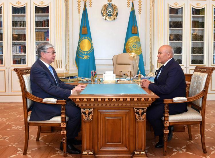 Касым-Жомарт Токаев внимательно следит за восстановлением Арыси 1