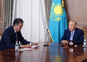 Нурсултан Назарбаев прокомментировал совместную работу Президента, Парламента и Правительства страны. 1
