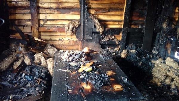 Мужчина погиб во время пожара в Костанайкой области 1