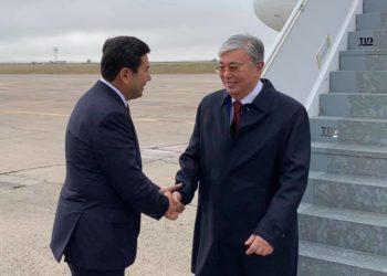 Президент Казахстана прибыл в Караганду с рабочим визитом 1