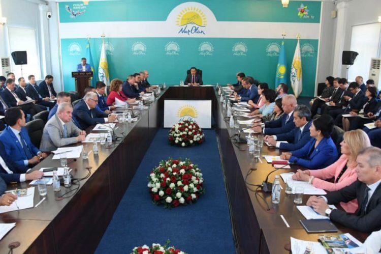 Сагинтаев рассказал, как «перезагрузка» «Nur Otan» отразится на Алматы 1
