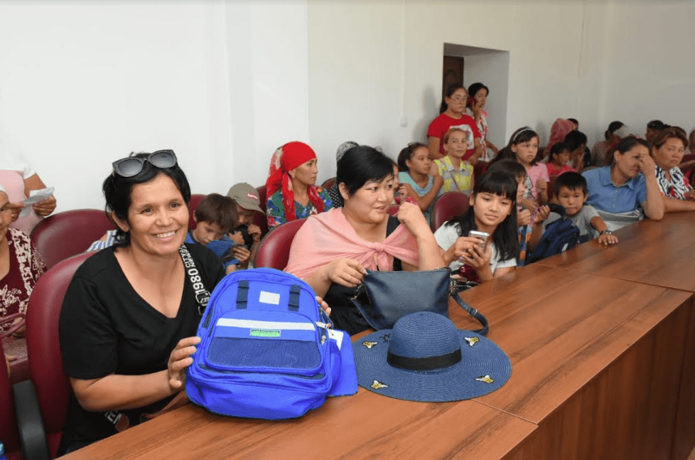 Акция «Дорога в школу» набирает обороты в Туркестанской области