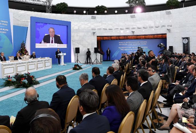 Елбасы принял участие в церемонии вручения «Назарбаевской премии за мир без ядерного оружия и глобальную безопасность»