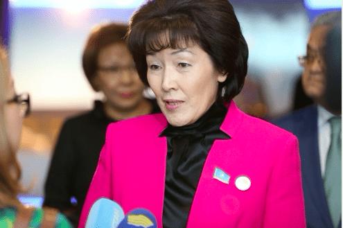 Гульмира Исимбаева: Работа партии расширяется через социальные сети 1