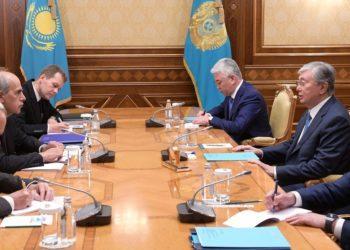 Касым-Жомарт Токаев встретился с спецпредставителем ЕС по Центральной Азии 3