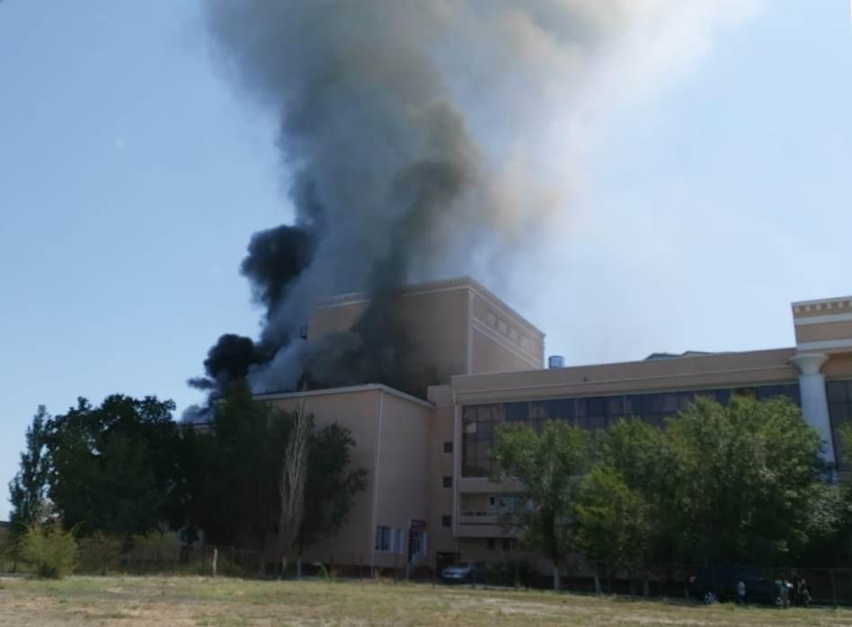 Пожар опередил проверку
