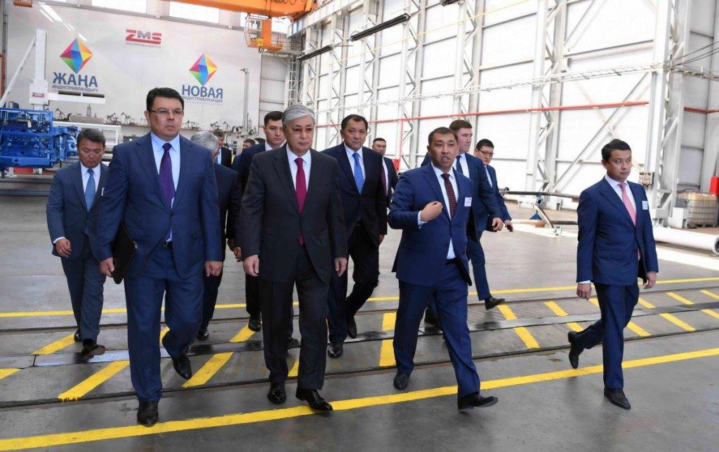 Визит главы государства в Атыраускую область